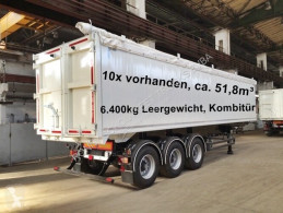 SKG 50 SKG 50, ca. 51,8m³, Kombitür, 10x VORHANDEN semi-trailer new self discharger
