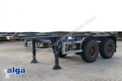 Chassis semi-trailer Blumhardt, 20 Fuß, Blattfederung, Trommelbremsen