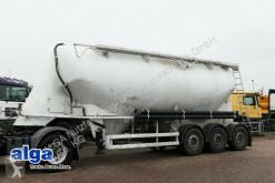 Semirremolque cisterna gránulos / polvo Spitzer SF 2737/2 P, 37 m³, SAF-Achsen, Zentralauslauf
