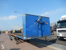 Renders flatbed semi-trailer ROC 12.27 Flat trailer / MB DISC
