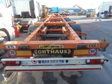 Semi remorque Orthaus CG SCS SCHELETRATO FISSO CON GENERATORE CORRENTE porte containers occasion