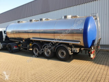 naczepa nc GreTo-Car CO 3004.01 GreTo-Car Lebensmitteltank, 30m³, V2 A, 4 Kammern, isoliert
