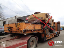 Used heavy equipment transport semi-trailer Robuste Kaiser Oplegger winch/ liftbed new tyres