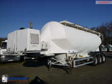 Feldbinder tanker semi-trailer Powder tank alu 40 m3 + compressor