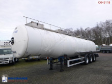 Magyar Chemical tank inox 34 m3 / 1 comp semi-trailer used chemical tanker