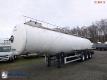 Semi remorque citerne produits chimiques Magyar Chemical tank inox 34 m3 / 1 comp
