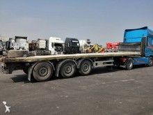 Semi remorque plateau Lecitrailer PLATA 3E-RS *ACCIDENTE*DAMAGED*UNFALL*