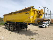 Kögel S24SB P1M-P1R semi-trailer used construction dump