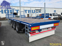 Trailer Flatbed tweedehands platte bak