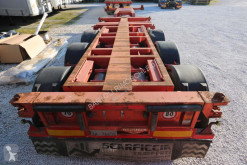 Broshuis container semi-trailer SEMIRIMORCHIO, PORTACONTAINERS, 3 assi