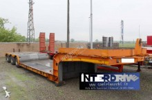 Cometto heavy equipment transport semi-trailer carrellone allungabile culla vasca