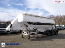 Feldbinder tanker semi-trailer Powder tank alu 40 m3 / 1 comp