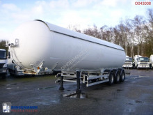 Robine Gas tank steel 50 m3 semi-trailer used gas tanker