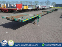 Nooteboom OVB-65-04V TRIPLE 4x steer axle 43m to semi-trailer used flatbed
