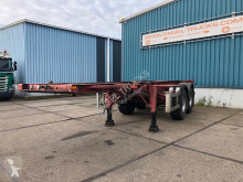 Semi reboque YORK SKN 28/2 20FT FULL STEEL / LAME porta contentores usado