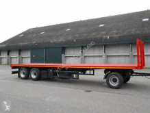 Pacton Kistenwagen trailer used flatbed