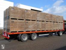 Van Hool flatbed trailer BLADVERING 30 ton