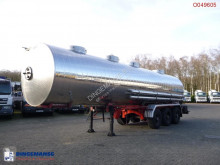 Magyar Food tank inox 29.4 m3 / 4 comp semi-trailer used food tanker