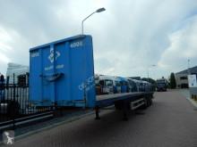Renders flatbed semi-trailer