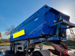 MOL Oplegger asfalt isoliert semi-trailer used tipper