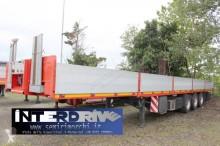 Semitrailer Krone City Liner Plane semirimorchio cassonato trasporto lastre e lamiere platta panelbärare begagnad