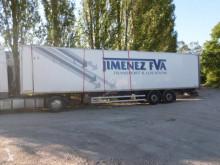 Félpótkocsi Fruehauf Non spécifié balesetes polcozható furgon