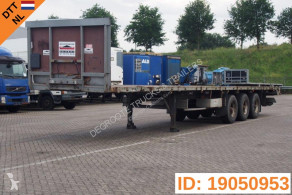 Groenewegen Plateau 40ft semi-trailer used flatbed