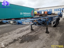 Semi remorque Asca 20'-30' Container Transport porte containers accidentée