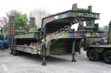 Nicolas STA 45T semi-trailer used heavy equipment transport
