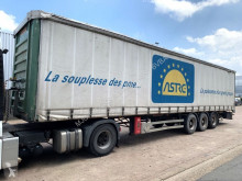 Trailer Schuifzeilen Fruehauf GT - - LIFT-AXLE - SMB AXLES - CLEAN CHASSIS - NICE CONDITION / ESS SMB - CHASSIS PROPRE - BONNE ETAT