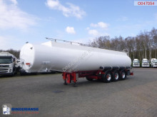 Indox Fuel tank alu 40.5 m3 / 6 comp semi-trailer used tanker