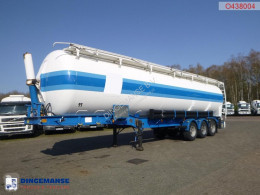 Tanker semi-trailer Powder tank alu 62 m3 (tipping)
