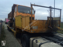 Tieflader heavy equipment transport semi-trailer FRãHAUF