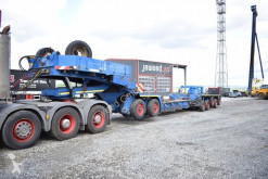 Goldhofer heavy equipment transport semi-trailer Nicolas / Scheuerle Tiefbett 5+2