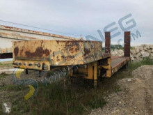 Nicolas STE 25 semi-trailer used heavy equipment transport