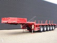 Langendorf flatbed semi-trailer W547 / HEAVY DUTY / BALLAST-TRAILER / STEERING AXLES