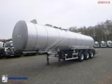 Semi reboque Fruehauf Bitumen / heavy oil tank inox 32.2 m3 / 1 comp / ADR 12/2019 cisterna usado
