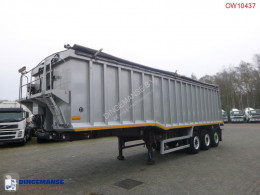 Wilcox Tipper trailer alu 48.5 m3 + tarpaulin semi-trailer used tipper