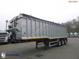 Semi remorque Wilcox Tipper trailer alu 48.5 m3 + tarpaulin benne occasion