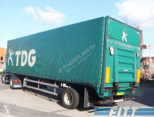 Floor 1 as gestuurde huifoplegger met klep used other semi-trailers