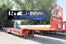 Langendorf heavy equipment transport semi-trailer carrellone trasporto vagoni usato