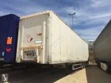 Coder semi-trailer used Clothes transport box