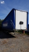 Lecitrailer semi-trailer used reel carrier tautliner