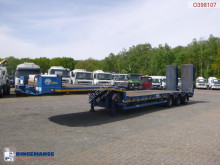 Trailer Verem semi-lowbed trailer 39 t / 9.1 m + ramps tweedehands platte bak