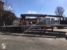 Trailer Asca tweedehands platte bak IJzertransport