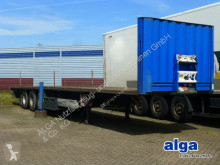 Krone dropside flatbed semi-trailer SD, Plattform, Rungentaschen, Luft,13.6mtr. lang