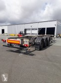 Trouillet container semi-trailer chariot coulissant