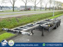 naczepa do transportu kontenerów Kögel