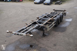 Van Hool Container chassis 3-assig/ 45ft/ multi semi-trailer used container