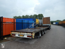 Knapen Semi-flat trailer / Double montage / BPW axles semi-trailer used flatbed